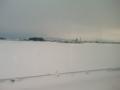 ほら、雪だ。すごい!