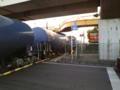 今から20分ほど前 京葉市原付近。この時間に貨車が通るのはめずらしい