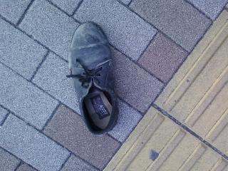 東銀座で靴なくした人いますか?