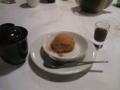 デザートは、玄米餅ぜんざい・カラメルアイス・水出しコーヒー♪