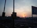 日の出。気持ちの良い朝にはやっぱBENNIE Kだわ。