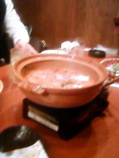 今日は尼崎商工会議所の起創会勉強会でした。写真は懇親会で食べた鍋