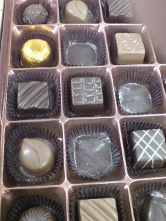 ゴンチャロフのチョコレート。