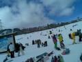 スキーなう。ひゃっほい