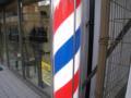 心斎橋レベラーズへ行く時間の余裕がないので、近所の理髪店にてカッ