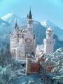 ノイシュバンシュタイン城。奇跡の一枚。