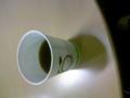 東京支社、休憩スペースにてカップコーヒーなう