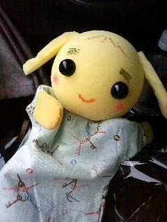人形劇みて、人形つくった うさりすちゃん…