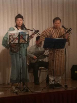 日曜日の三線ステージ★新しいメンバーが3人増えた。これからは先生