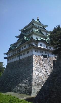 名古屋城なう。イケメン慶次がいた