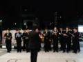 路上ライブ。青葉城址男声合唱団。イイ感じ。Inサンモール一番町。