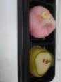 緑茶と和菓子なう