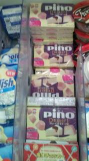 ピノ ブルーベリー&チーズ味食べた。激ウマ!