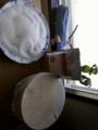 お昼ご飯は紅茶パンになりました♪フラワー粉入れをお塩に入れ替えの