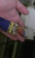 PC98にモニタをつなぐためのD-sub25ピン→9ピンへの変換コネクタを自作し