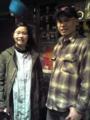 芥川賞作家の津村記久子さん来ました。エリオット・スミスとかヴェル