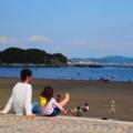 江ノ島の親子☆かわいかったぁ。いぃ休日でした**