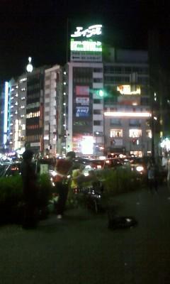 渋谷宮益坂で路上ライブしてたインストバンド。ちょーかっこいい!思