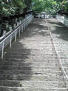 本日東京街散歩に参加。愛宕神社の階段下なう。蒲田行進曲やったらき