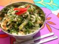 5 《スリランカ》ほうれん草のサンボルサラダ 「サンボル」とはス