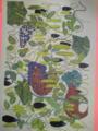 この絵好きだなあと思ったら「北野武」だった。資生堂の「よむ花椿」