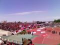 札幌厚別競技場。子どもと来たかった