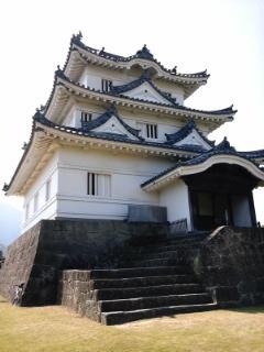 宇和島城山錬だん。クリートが減ったぜ。