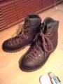 登山靴の防水&ヌバックお手入れ完了なう♪ 明日は楽しい登山〜!い