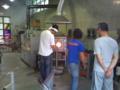 甲山ガラス工房で体験なう!