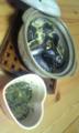 今日はム−ル貝が安かったので、タイ風土鍋蒸しに。レモング ラスの