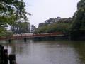 小田原城前を歩き中なう。いい天気!暑い!