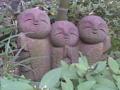 長谷寺の和み地蔵。あじさい散策は待ちが長くて断念。