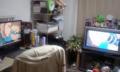 テレビをデュアルモニタにしてるからみちやを壁紙設定したらえらいこ