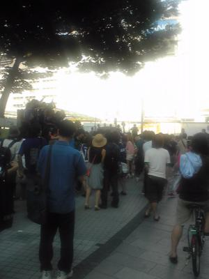 新宿、そこそこ、騒乱。 #2010WC