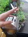 対ドイツ用に携帯を機種変更した。au T004 ちょっと高かった。(^^;