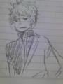 極めつけはもちろん坂田だよ!1分で描いてくれたぜ(´ω`)かわゆしか