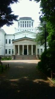 観劇終了!大倉山記念館でございます。