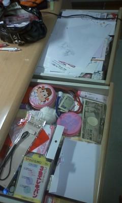 部屋が汚いやつは、机の中も汚い…!