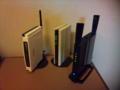 【無線LAN】世代交代しました。I・O DATA(WN-G54/R-S)54MbpsからBUFFALO(WZR-HP-G301N