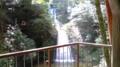 阿寺の七滝を見物。私以外誰もいませんでした。