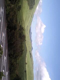 秋吉台。お天気よし。風も気持ちいい。景色もきれいやなぁ。