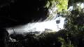 百間滝は阿寺の七滝よりも迫力ある。