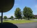夏のここも好き。病院玄関なう。