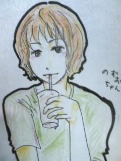 @moonusa ねる前にのずちゃん発見!のず男君描いたのよかったら受け取っ