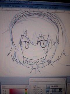 アリス描くのなんか楽しい