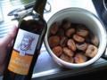 そこに安い赤ワインをドバドバ。今回はポルトガルの赤ワイン¥380
