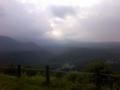 今日も展望台まで散歩したけど、雲が多くて御嶽山は全く見えず。 こ