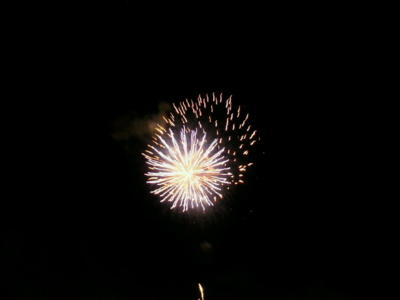 watched fireworks! awesome ;) Japanese summer lol