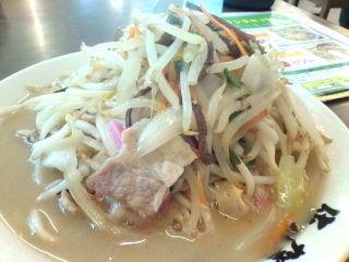 @hitomi_ogata 休みでもじっとしていられません。(笑) 今、ちゃんぽん食べ