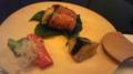 鮭、茄子、万願寺なう